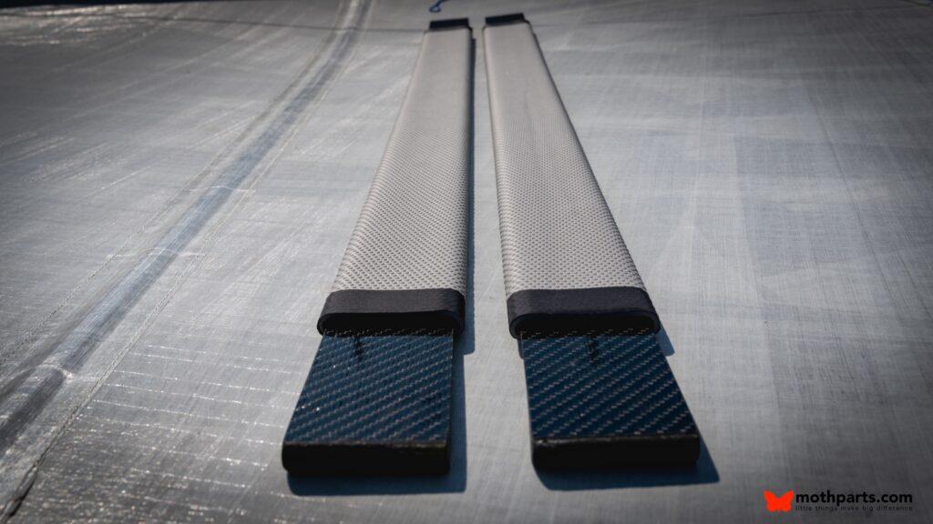 Padded Carbon fibre hight performance hiking straps 0295
