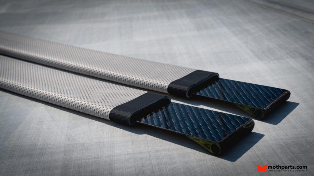 Padded Carbon fibre hight performance hiking straps 0297